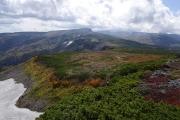 トムラウシ山は雲の中