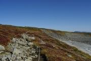 化雲岳の頂上の岩