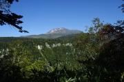滝見台から旭岳も望む