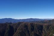大峯の山々