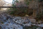 シオカラ谷の吊り橋