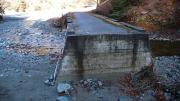 熊木沢へ渡る橋