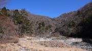 東沢と西沢の合流地点