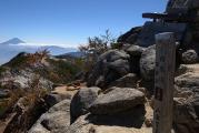 観音岳山頂