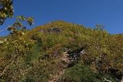 高嶺の急斜面