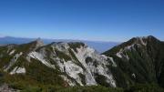 地蔵ヶ岳と観音岳