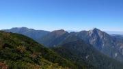 仙丈ヶ岳、アサヨ峰、甲斐駒ヶ岳
