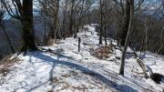 石棚山の山頂標識