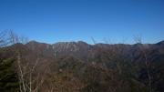 蛭ヶ岳から丹沢山