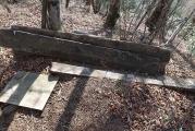昔の東海自然歩道の案内板