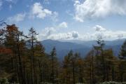 七ッ石山頂上から南側