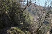 小普賢岳の巻き道コース