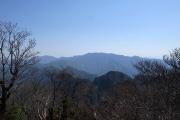 弥山・八経ヶ岳方面