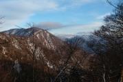主稜の稜線はそれなりに雪が積もっていそう