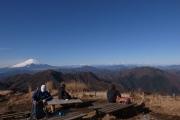 蛭ヶ岳の頂上