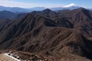 丹沢主稜の稜線
