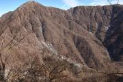 蛭ヶ岳の南陵