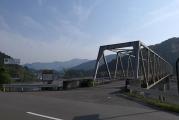 橋を渡って七越ノ峰へ