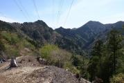 地蔵岳と笠捨山