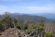 笠捨山の眺望