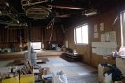 行仙宿小屋の内部