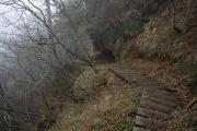 延々と階段