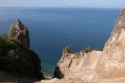 不思議な形の岩