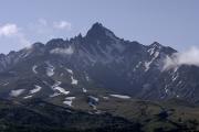 南側から見る利尻山