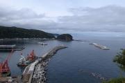 造成中の新しい港