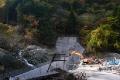大規模な堰堤工事