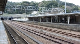 金谷駅のホーム