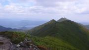 本峰から糠平富士方面