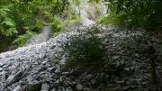 堆積した土石