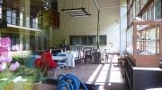 ユーシンロッジの食堂