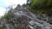 大石山の鎖場