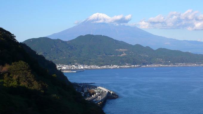 薩埵峠からの富士山