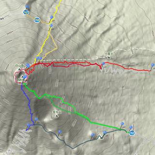 Fuji Trail MapThumbnail Google Maps