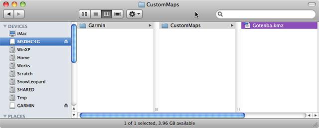 GPS Custom Map SD