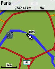 Zoom-up to Paris