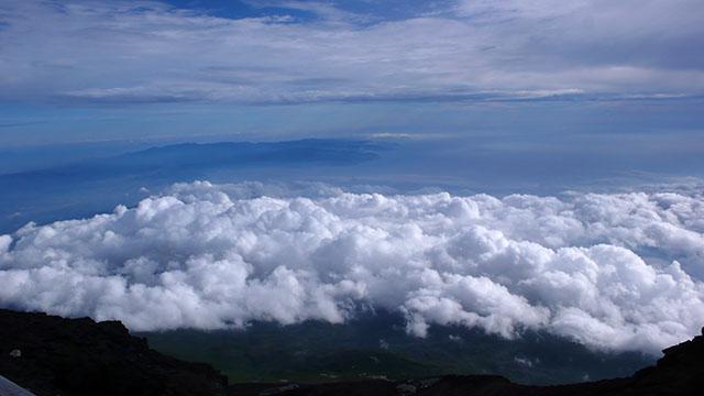 富士宮口頂上より