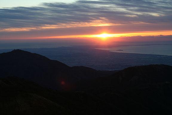 2013初日の出(塔の岳)