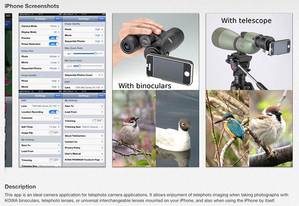 TeleCamera on AppStore 2
