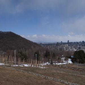 円山と札幌の中心部
