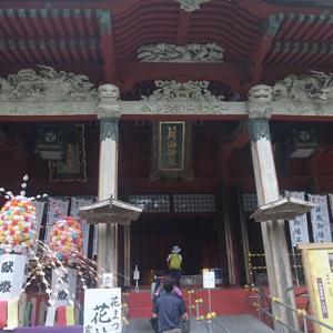 月山神社と湯殿山神社が一緒