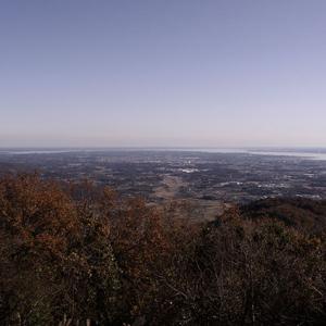 霞ヶ浦方面の眺望