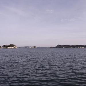 島々が見えてきた