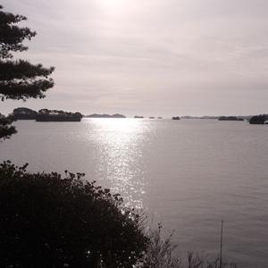 松島湾を一望