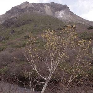 ひょうたん池から茶臼岳