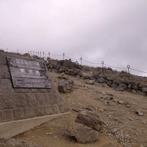 山頂駅からの登山道と合流