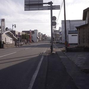 尾花沢のメインストリート